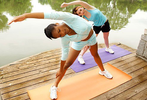 Exercise builds strong muscles around your joints, and that helps prevent injuries.