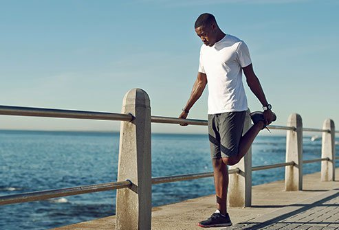The muscles around your knees can get tight, and that can lead to painful injuries.
