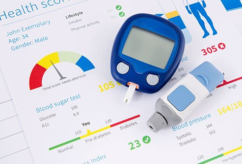 Diabetes can cause serious health problems, including blindness and heart disease.