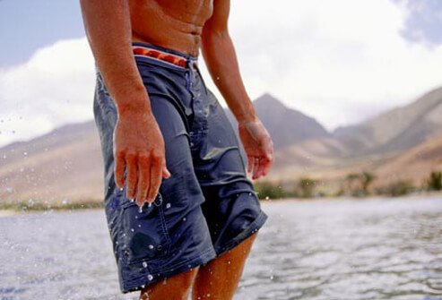 Consider your height before picking the length of your trunks.