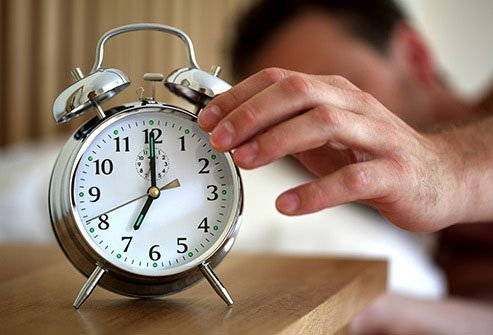 Pick set times to go to bed and wake up every day.