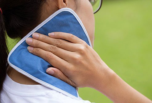 Some studies show that wrapping a cold pack around your neck when a migraine hits can lower your headache pain.