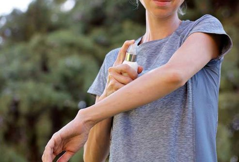 A repellent with DEET tells mosquitos to buzz off loud and clear.