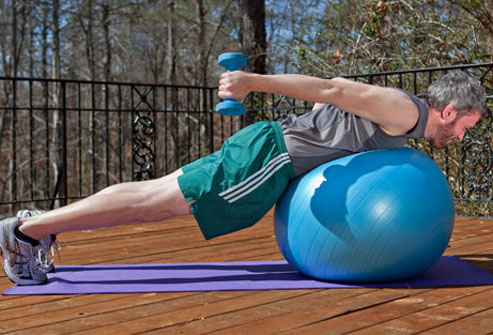Ready to work every muscle in your body? This move comes close, with a special challenge for the core.