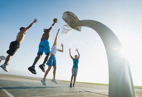 Pro athletes train with jumping jacks and other explosive moves to increase muscle power.
