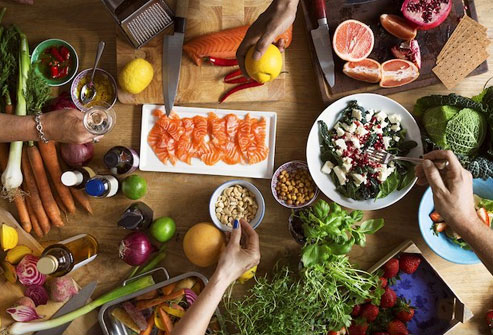 Fruits, veggies, seafood, whole grains, and less meat comprise the Nordic diet.