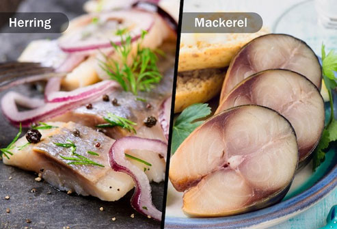 Include two to three servings of fatty fish per week in your Nordic diet eating plan.