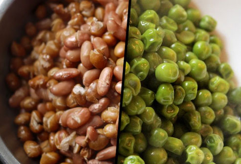 Eat more beans for complex carbs and fiber.