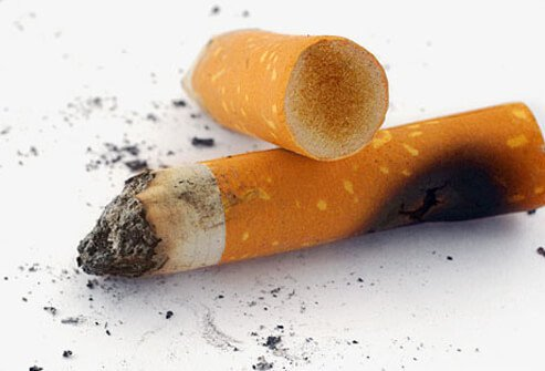 One of the most common and worst compounds that stains and discolors teeth is tobacco.