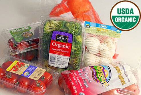 A 2002 law set in place a national organic foods standard.