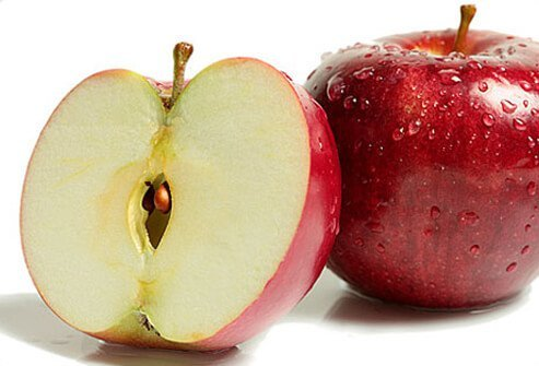 Conventional apples have been shown in various studies to have the same nutrients as organically grown varieties.