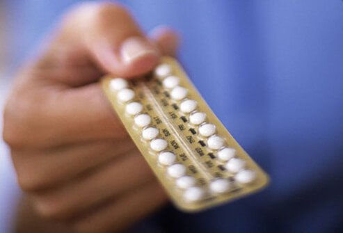 Photo of birth control pills.