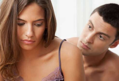 Pain may occur superficially on the surface of the genitals, deeper near the cervix, or anywhere in between.