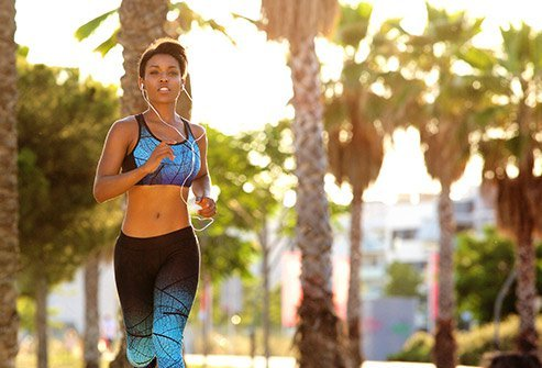 Fitness releases endorphins, which relieve pain during your monthly cycle.