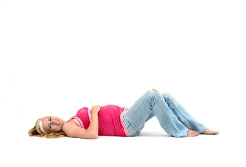 Doing Kegel exercises during pregnancy can help strengthen muscles to prepare for birth.
