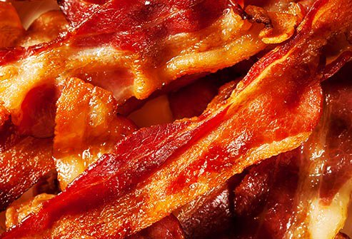 Bacon is not a great meat product to include in your diet.