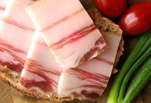 To reduce your risk of cancer, lay off the pancetta.