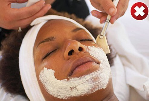 Although facials, light chemical peels, and other spa treatments can sometimes improve acne, the results are not immediate.