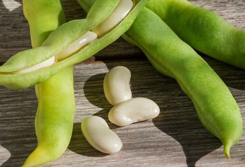 The poison cyanide is naturally in some foods and plants, including lima beans.