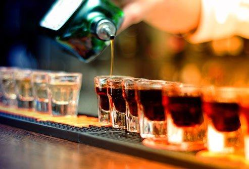 Overdoing alcohol can cause a lot of health problems.