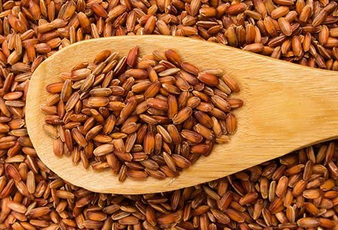 Bored with browns and whites? Add a little flair with Himalayan red rice
