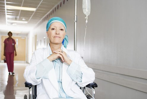 Oncologists help patients fight cancer.