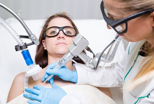 Dermatologists specialize in removal of pre-cancerous moles.