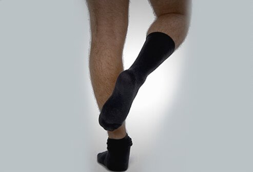 Stay stocking-footed to prevent the spread of any foot fungus to other parts of your body.