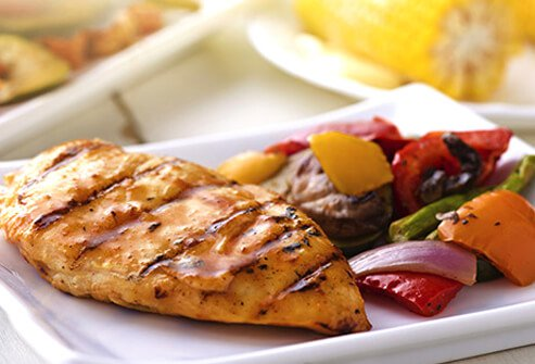 When dining out, look for possible code words to healthier food with less saturated fat.