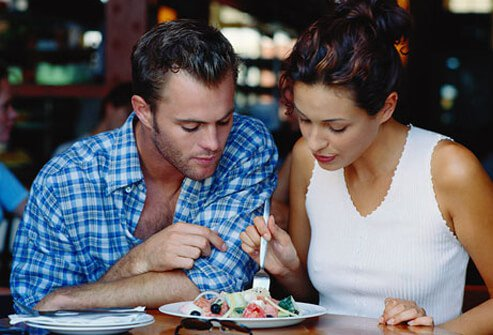 Make restaurant portions fit into a healthy eating plan.