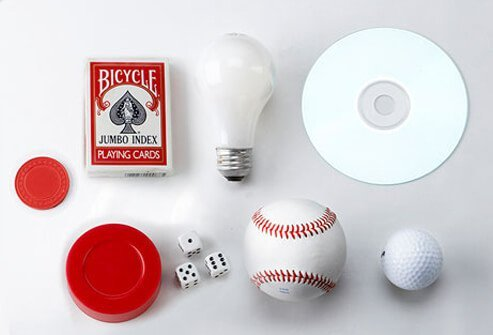 Photo of common objects.