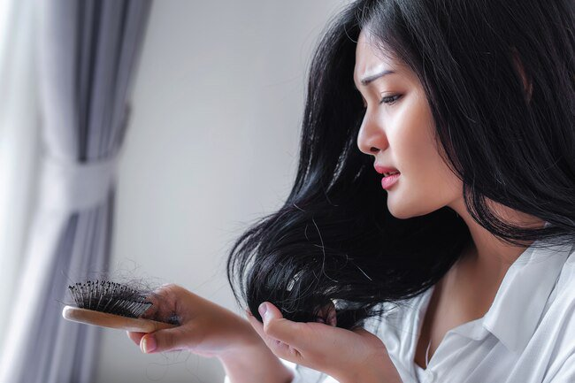 If you notice big clumps of hair on your pillow or in the shower, you may be low in iron.