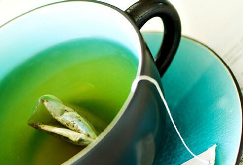 Green tea is an excellent choice when you're looking for a little boost.