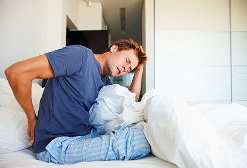 Many studies have shown that sleep deprivation heightens your pain awareness.