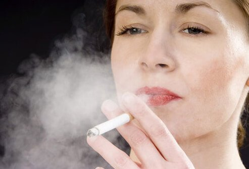 Smoking affects the blood vessels, which deliver oxygen and nutrients to the entire body.