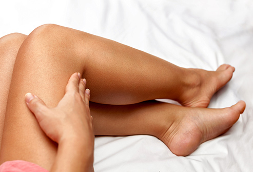 Self-tanner may help minimize the appearance of stretch marks and make them less noticeable.
