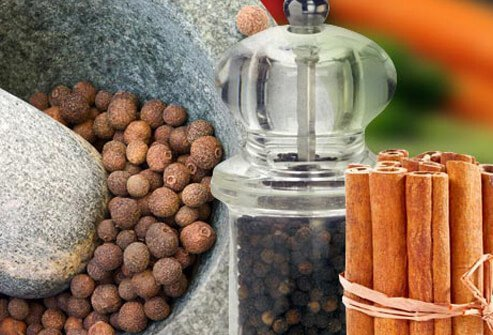 Photo of spices.