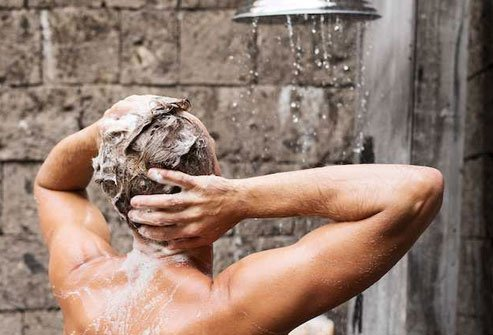 Being too aggressive with shampooing, drying, or styling hair may cause it to fall out.