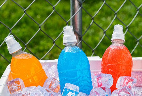 They help quench your thirst, but sports drinks may also be undoing some of the healthy benefits of your workout.
