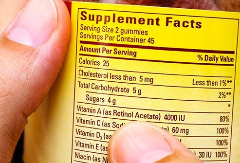 Are there extra sugar calories hiding in your vitamins and supplements?