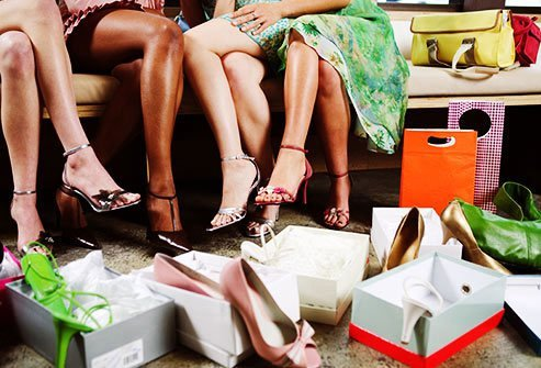 Some people rack up incredible debts through compulsive shopping.