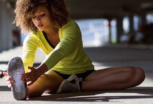 You can help prevent repetitive motions from leading to an inflamed tendon if you stretch and warm up before any activity.