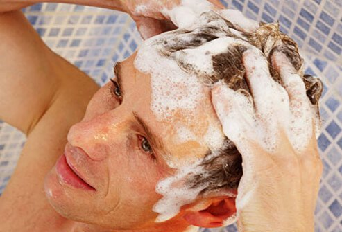 Using a medical shampoo is not that complicated.