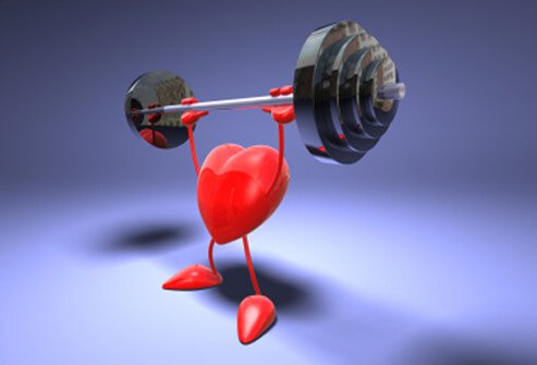 Exercise makes the heart and cardiovascular system stronger.