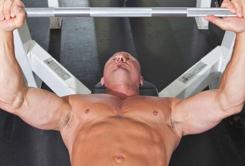 This classic move hits all your chest muscles.