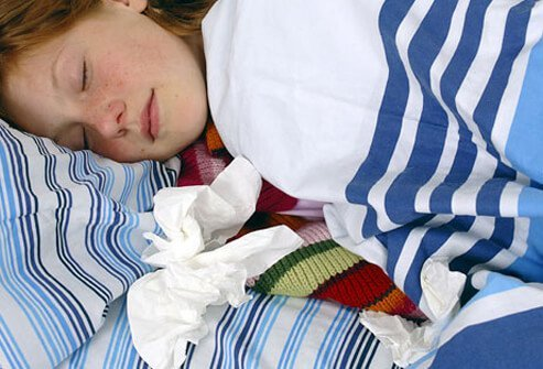 Let your child sleep as much as they need to even if it means missing a dose of medicine.