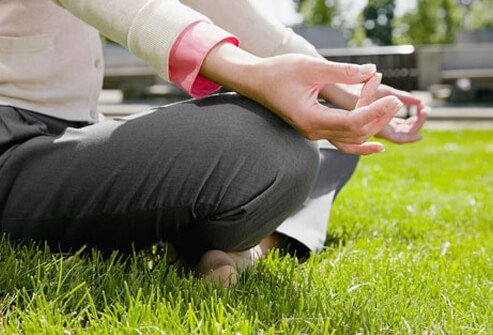 Meditation is a common technique for managing stress along with guided imagery, deep breathing, and other techniques.