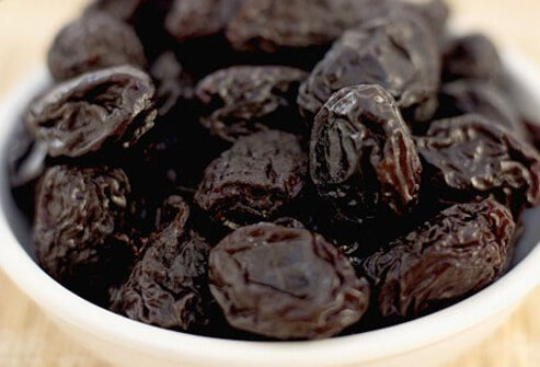 Prunes are a potential bladder irritant.