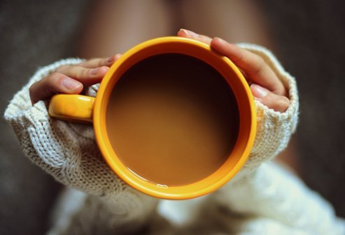 Caffeine in coffee can increase energy levels and help you focus.
