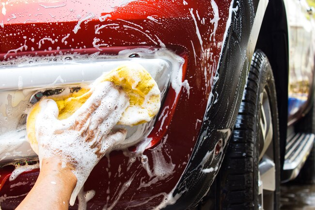 Chores like washing the car and mopping the floors count as exercise.